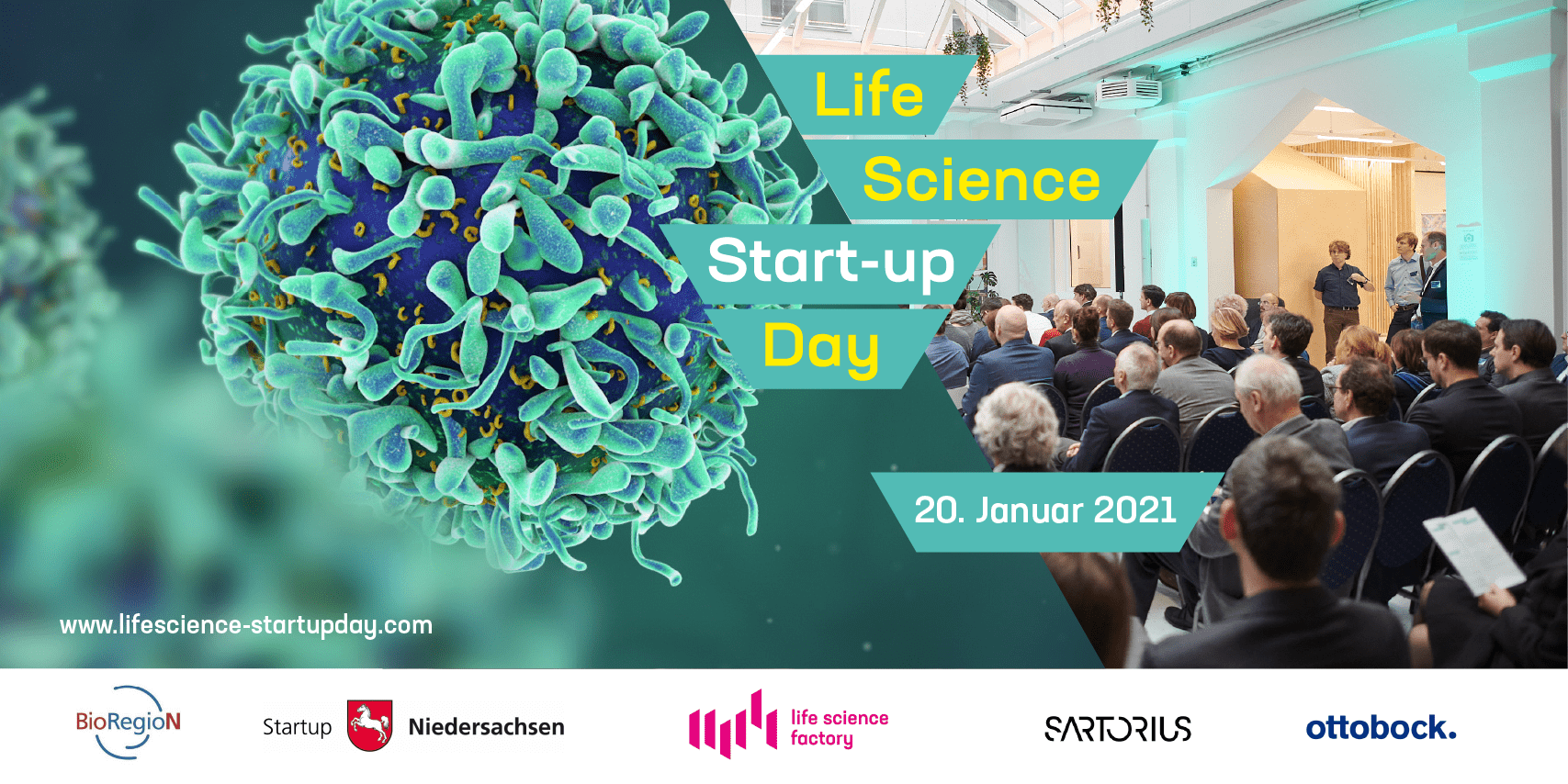 2nd Life Science Start-up Day with start-up project from IFNANO